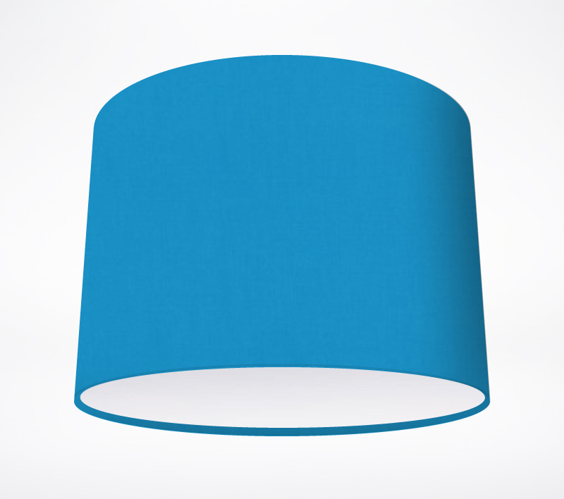 Turquoise Blue Lampshade Lampshade Parade