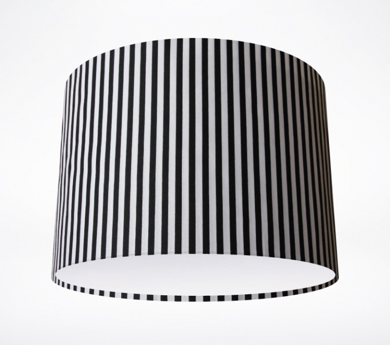 Black Amp White Stripe Lampshade Lampshade Parade