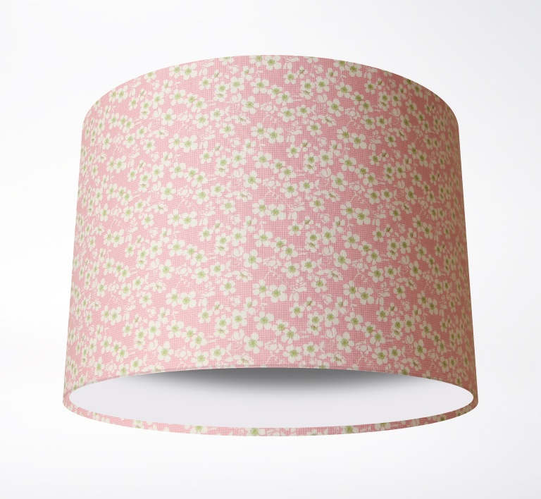 Cherry_Blossom_Pink_LampshadePLAIN