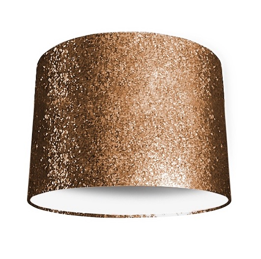 Copper Glitter Lampshade