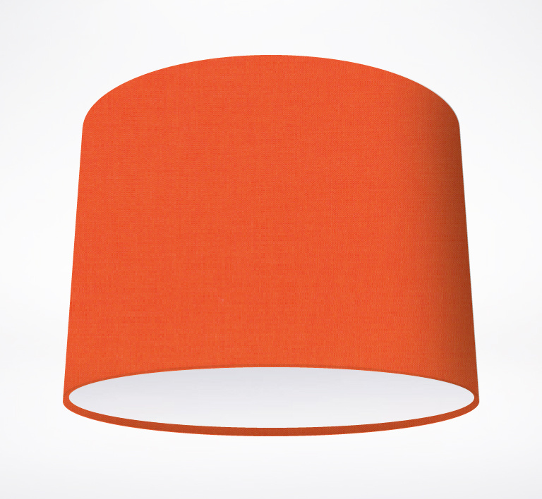 Solid colours archives lampshade parade carrot lampshade mozeypictures Image collections