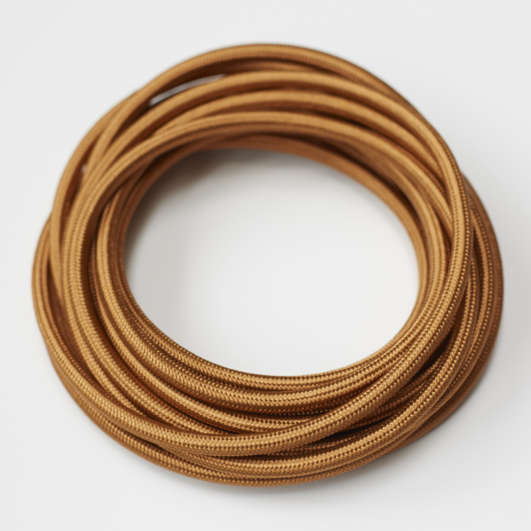 Copper Round Fabric Lighting Cord Flex.jpg
