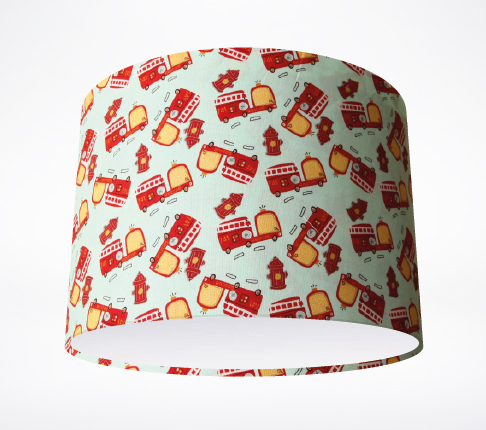 On_Our_Way!_Fire_Trucks Lampshade.jpg