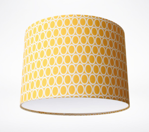 Yellow ovals teal retro lamp lampshade parade share aloadofball Gallery