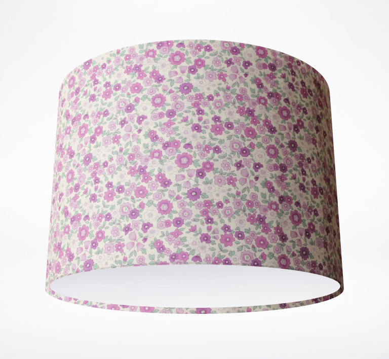 Retro_Purple_Wild_Flowers_Lampshade.jpg