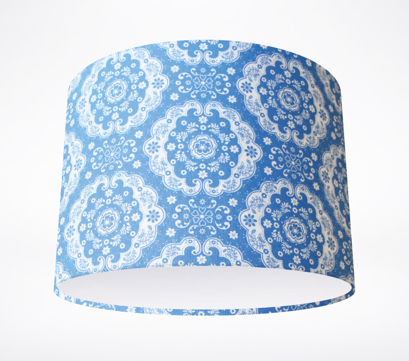 Sweetness And Light Blue Lampshade Lampshade Parade