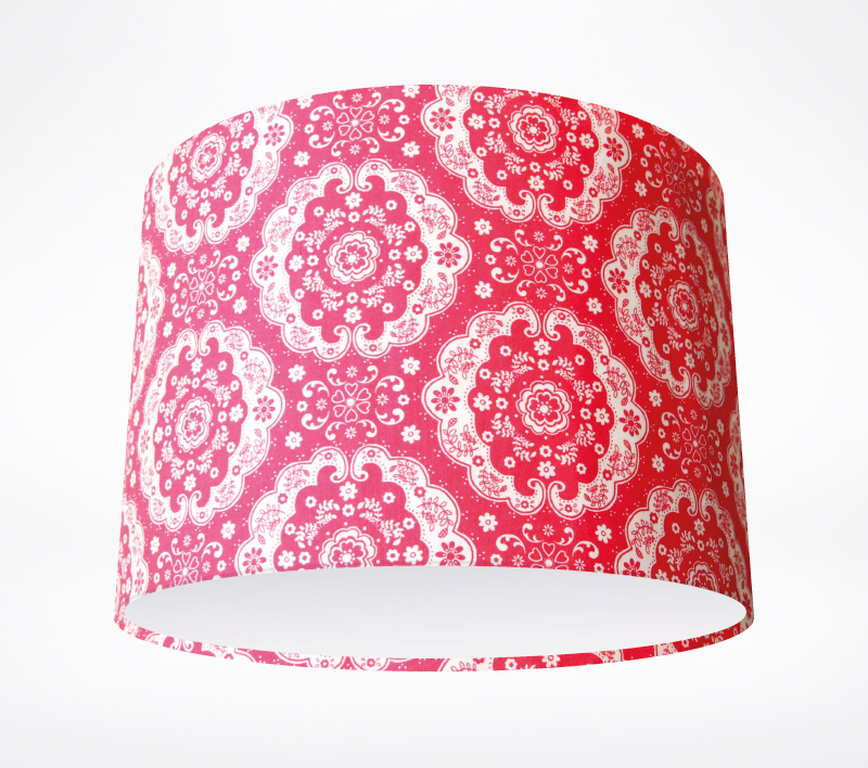 Sweetness And Light Red Lampshade Lampshade Parade
