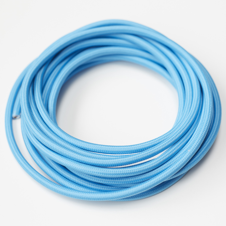 Turquoise Round Fabric Lighting Cord Flex.jpg